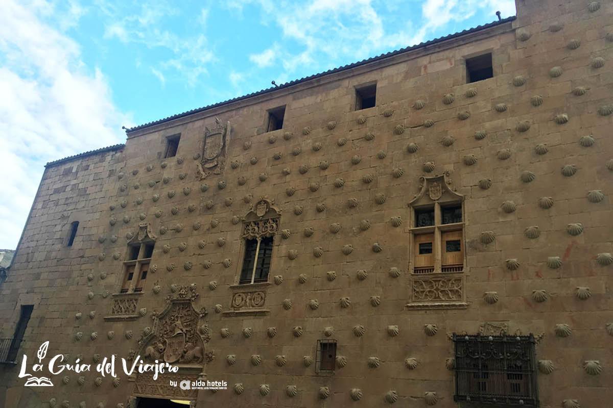 Qué hacer y ver en Salamanca: Casa de las Conchas