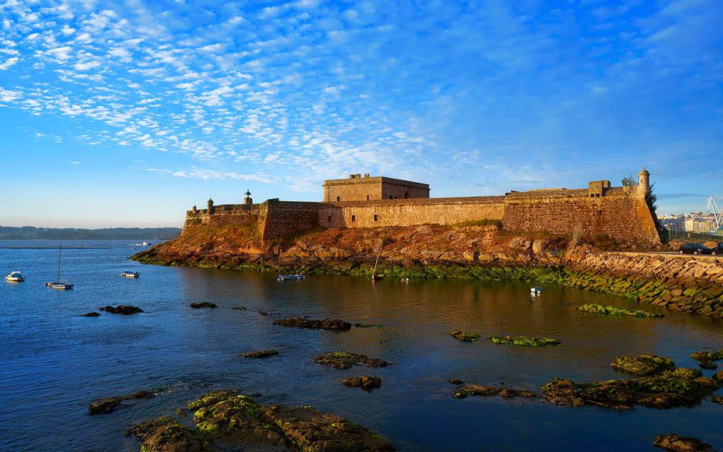 Qué ver en A Coruña en dos días: Castillo San Antón