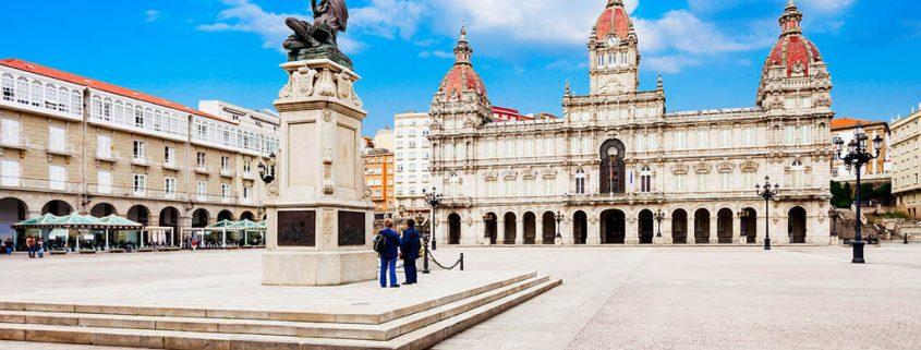 Qué hacer en A Coruña en dos días: Monumento María Pita