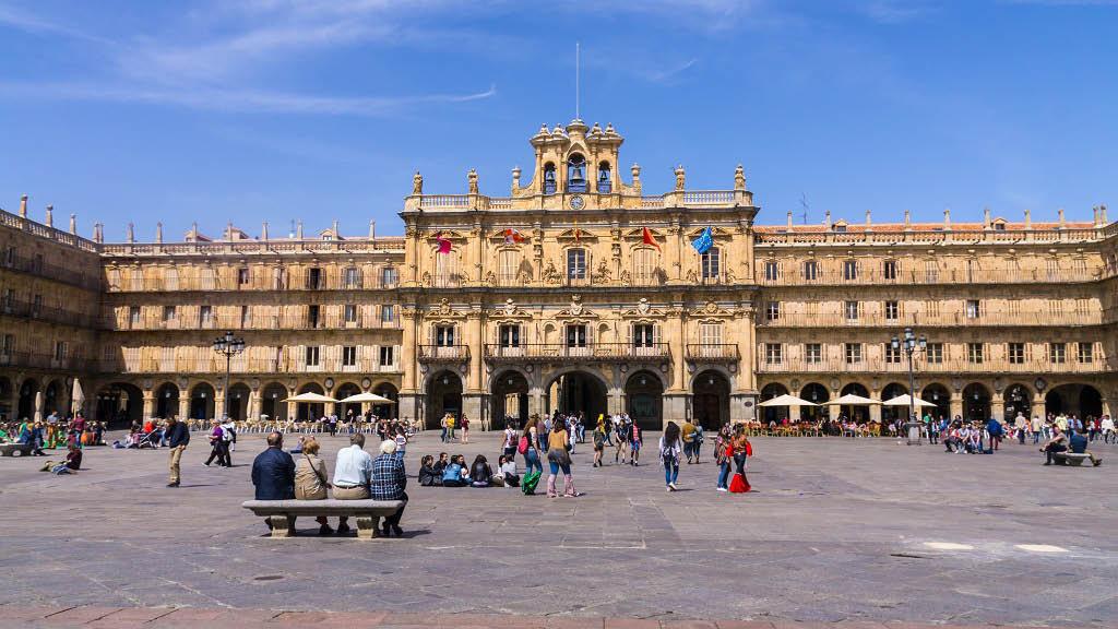 Qué ver en un fin de semana en Salamanca: la Playa Mayor