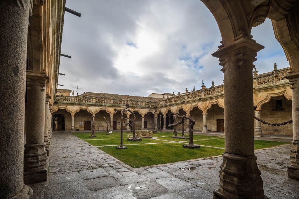Interiores de la Universidad de Salamanca