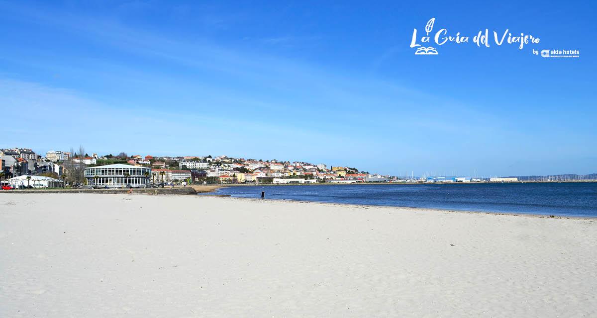 Playa de las Delicias en Sada