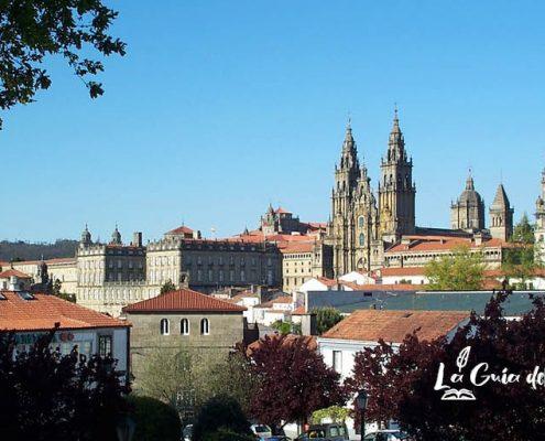 Vista de la Catedral de Santiago