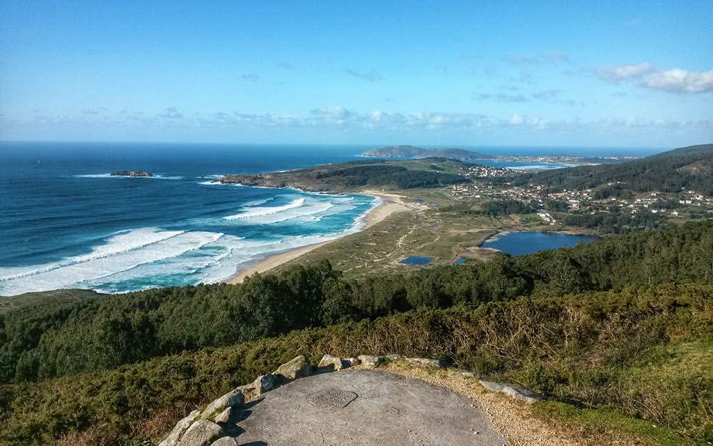 Playa de Doniños en Covas, Ferrol