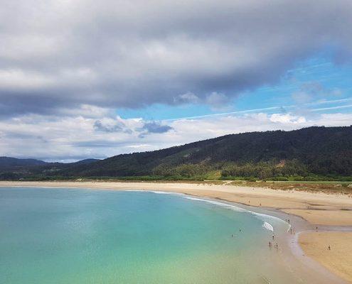 Playa de San Xurxo en Covas, Ferrol