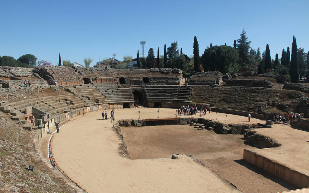 Qué hacer en Mérida: el anfiteatro romano