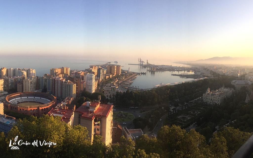Qué ver en Málaga en dos días - Castillo de Gibralfaro