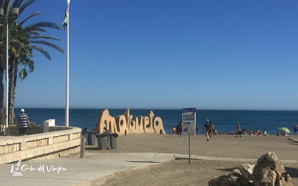 Qué ver en Málaga en dos días - Playa de Malagueta