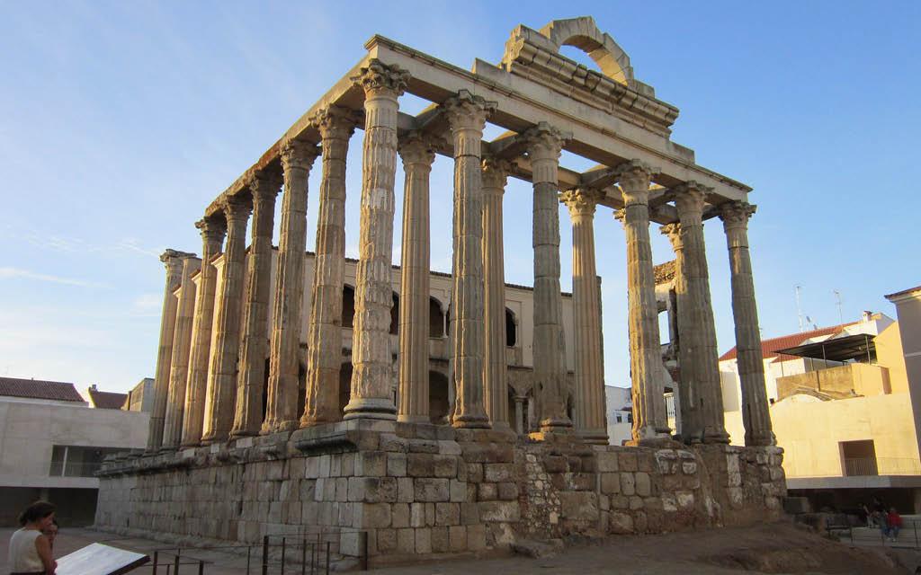 Qué hacer en Mérida: templo de Diana