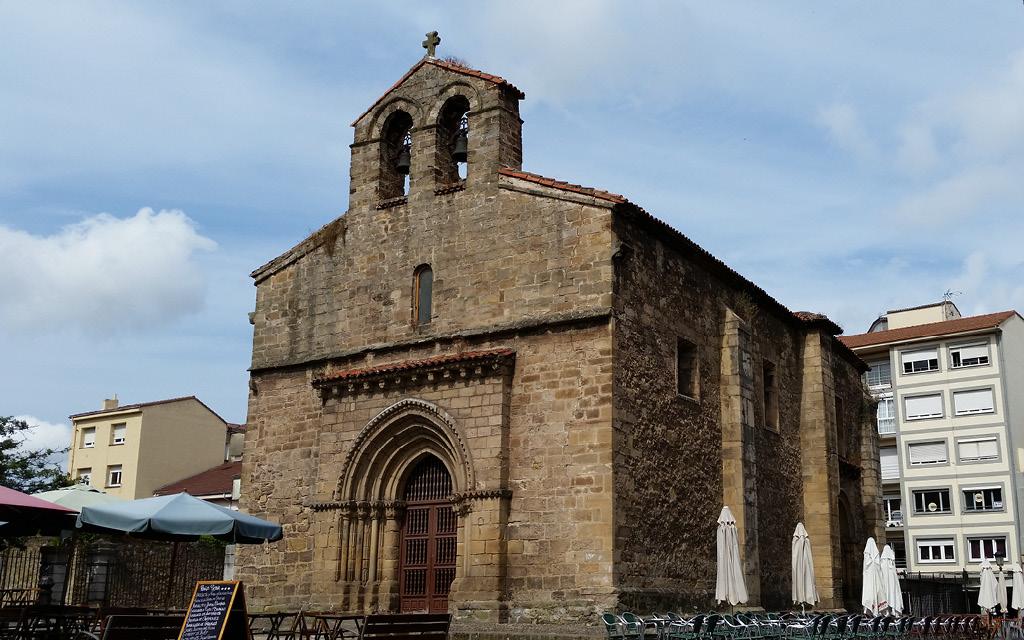 Qué ver en Avilés en un día: la Iglesia de Sabugo.