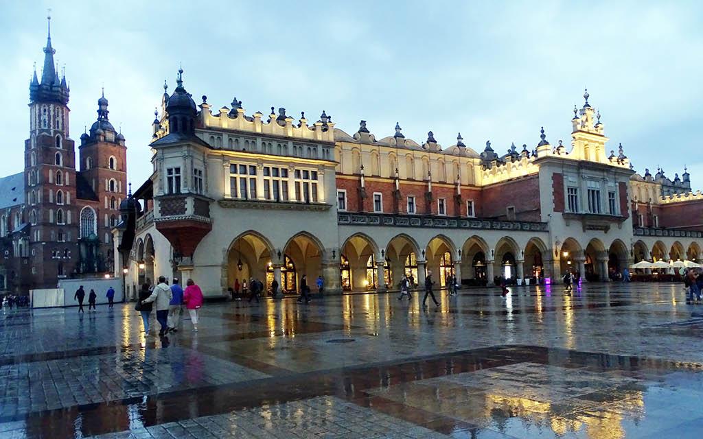 Qué ver en Cracovia en 4 días: la Plaza del Mercado