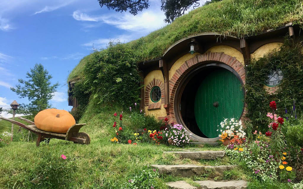 Viajar a Nueva Zelanda - Hobbiton