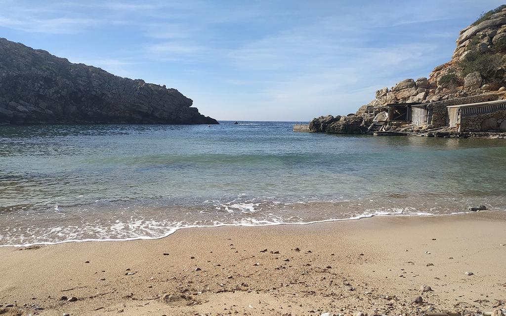 Carbó es una de las mejores calas de Ibiza.