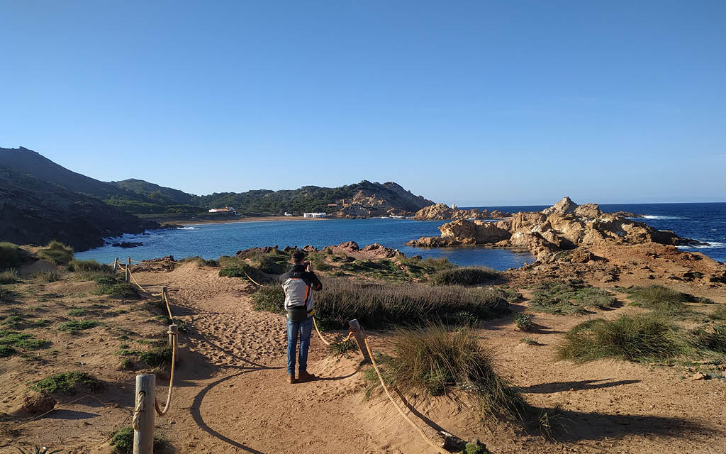 Cala Pregonda es un parada obligatoria que ver en Menorca en 4 días.