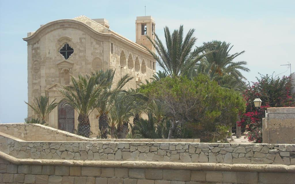Iglesia de San Pablo y San Pedro en la Isla de Tabarca