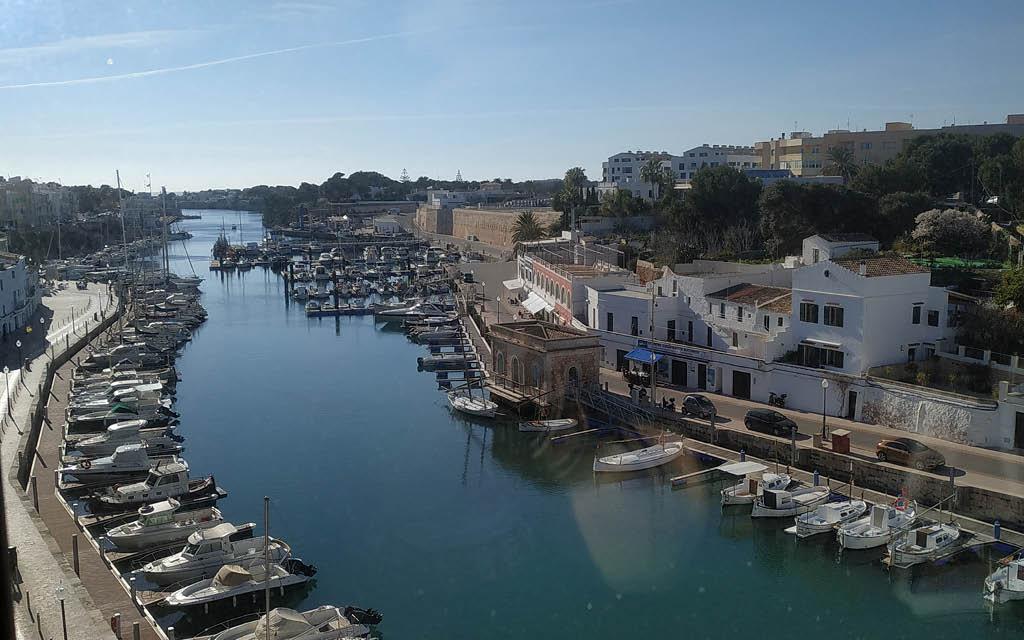 Puerto de Ciutadella es una parada obligatoria que ver en Menorca en 2 días.
