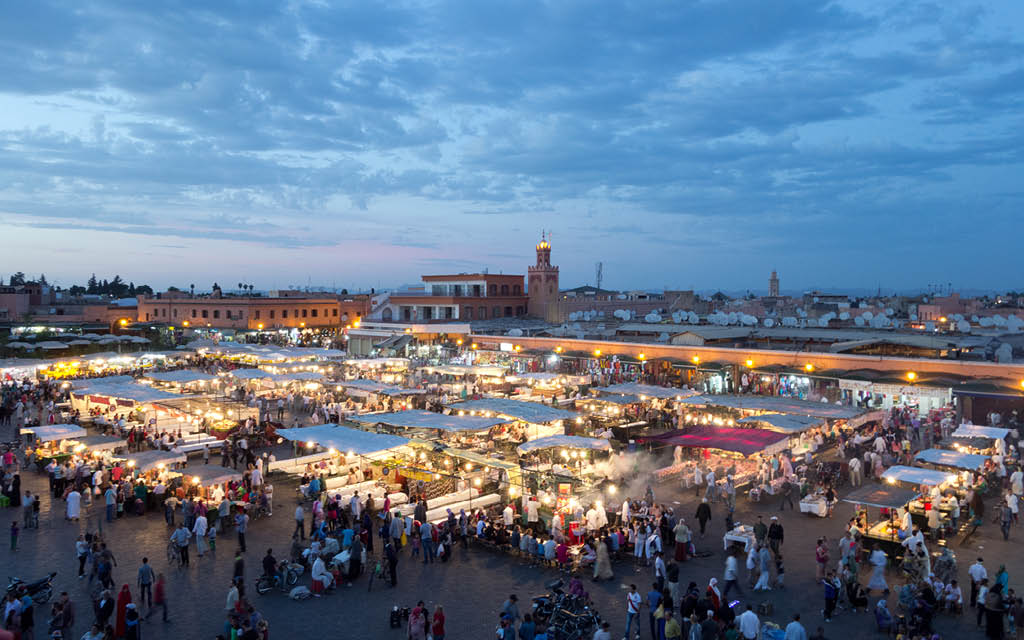 Qué ver en Marrakech en dos días. Djemaa el Fna
