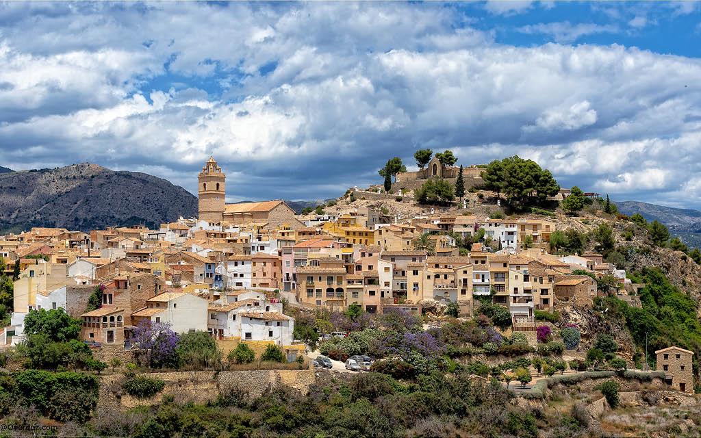 Polop de la Marina es uno de los pueblos de Alicante interior más bonitos