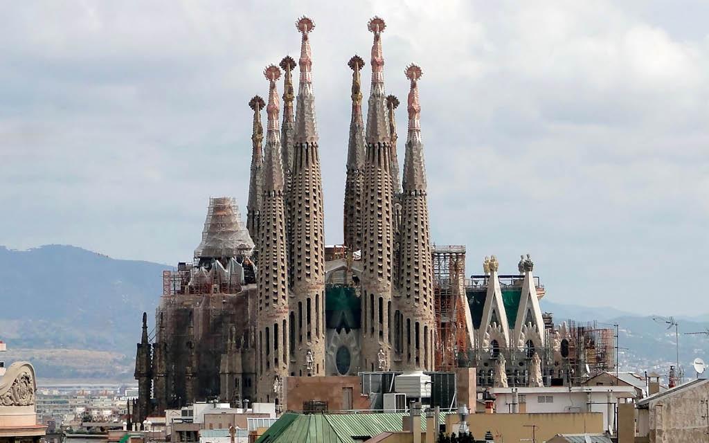 La Sagrada Familia es una de las cosas para no perderse en Barcelona