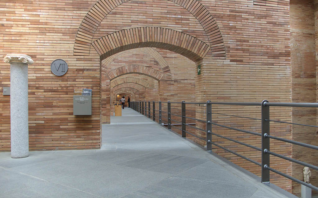 El Museo Nacional de Arte Romano es uno de los sitios imprescindibles de Mérida