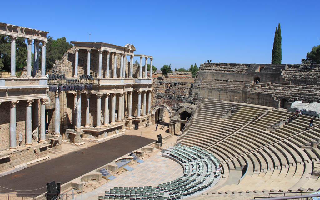 El Teatro Romano es una de las mejores cosas que ver en Mérida
