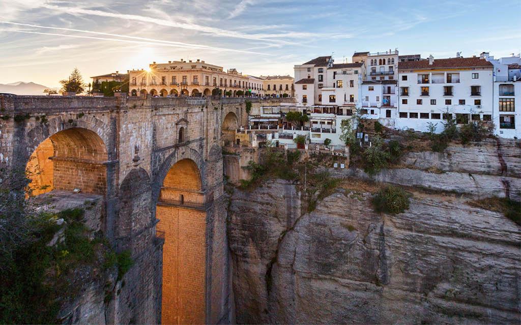 Ronda es uno de los sitios más románticos de Andalucía
