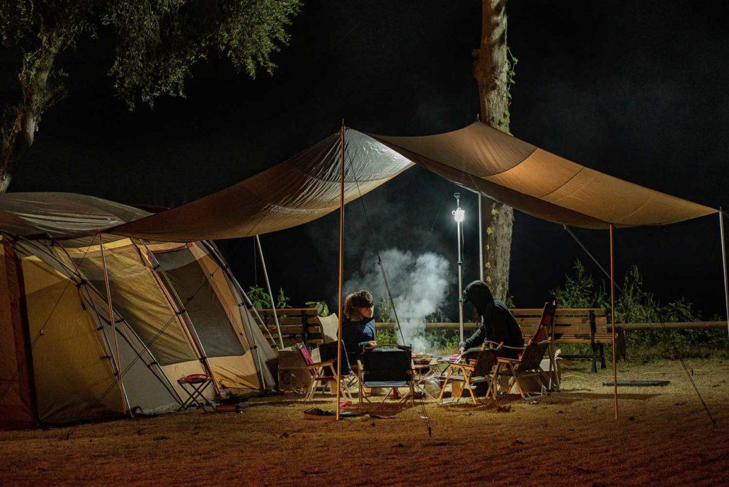 El precio es una de las ventajas de dormir en un camping.