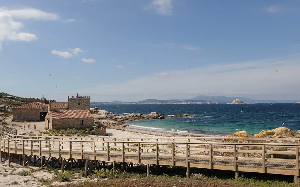 La Isla de Sálvora es una de las maravillas ocultas que ver en A Coruña provincia