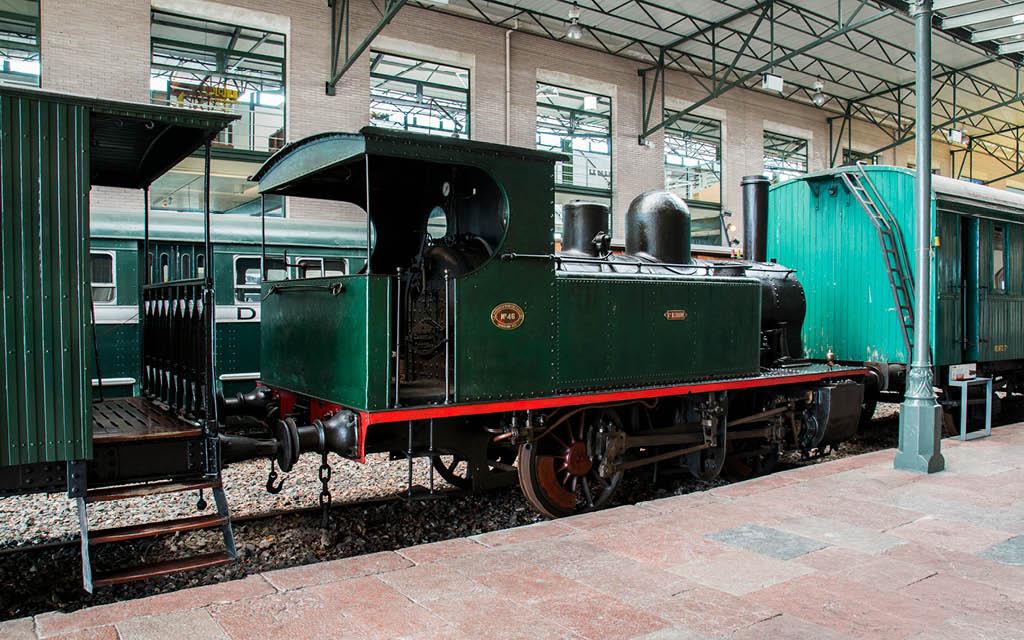 El Museo del Ferrocarril en Gijón es ideal para adolescentes