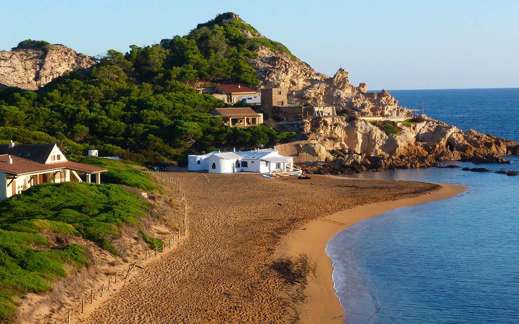 Pregonda es una de las mejores playas de Menorca