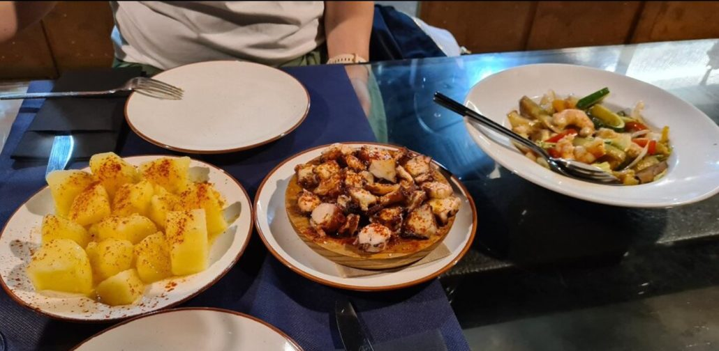 Dónde comer pulpo en Santiago de Compostela