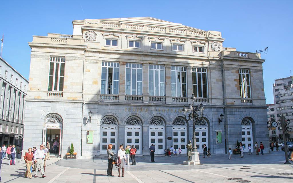 El Teatro Campoamor es uno de los imprescindibles que ver en Oviedo en 2 días