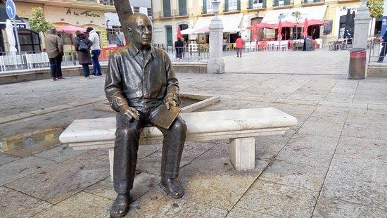 Estatua de Picasso en Málaga