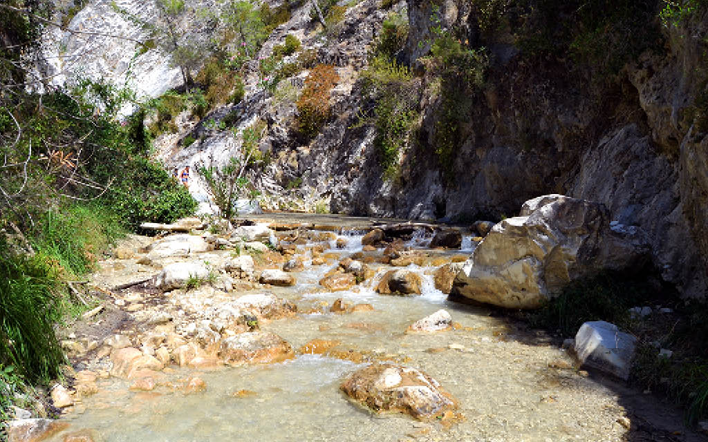 Ruta del río Chillar en Nerja